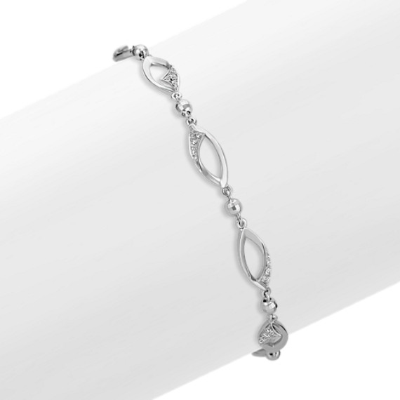 "Diamond Fashion Bracelet (7"")"