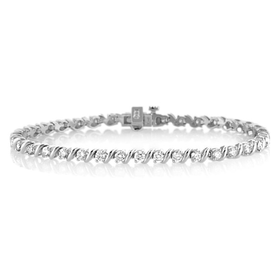 "Diamond Tennis Bracelet (7"")"
