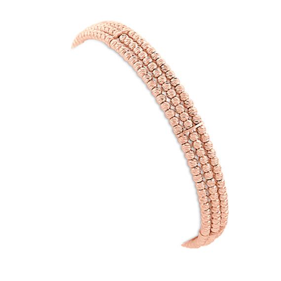 Rose Sterling Silver Flex Cuff Bracelet (7)