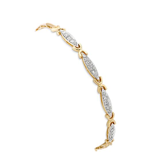"""Round Diamond Bracelet (7"""")"""