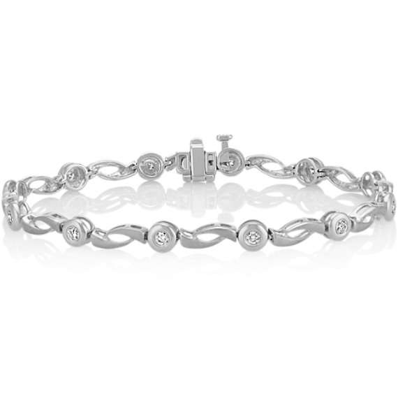 Round Diamond Bracelet (7.5 in.)