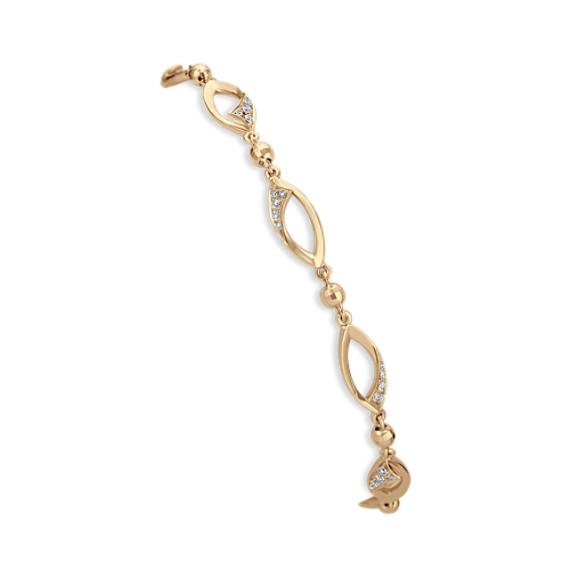 Round Diamond Fashion Bracelet (7)