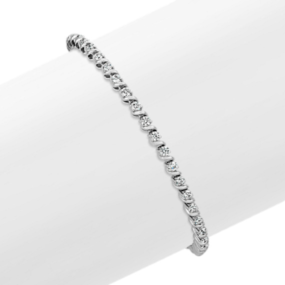 Round Diamond Tennis Bracelet (7)