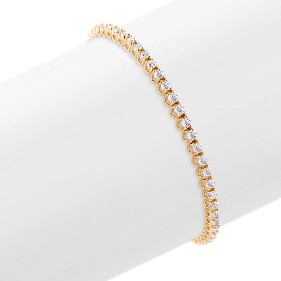 Round Diamond Tennis Bracelet (8)