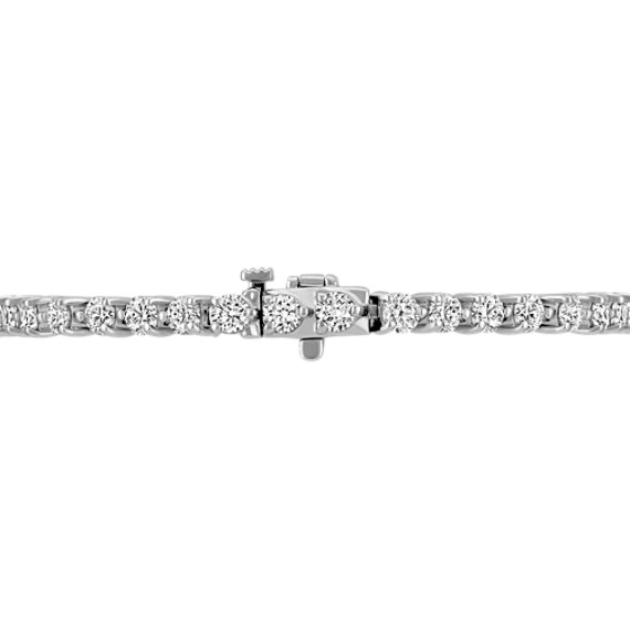 "Round Diamond Tennis Bracelet (7"")"