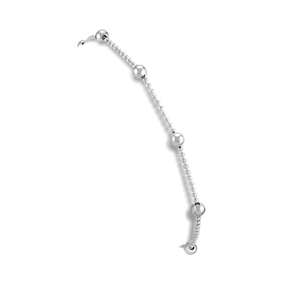"""Sterling Silver Anklet (9.5"""")"""