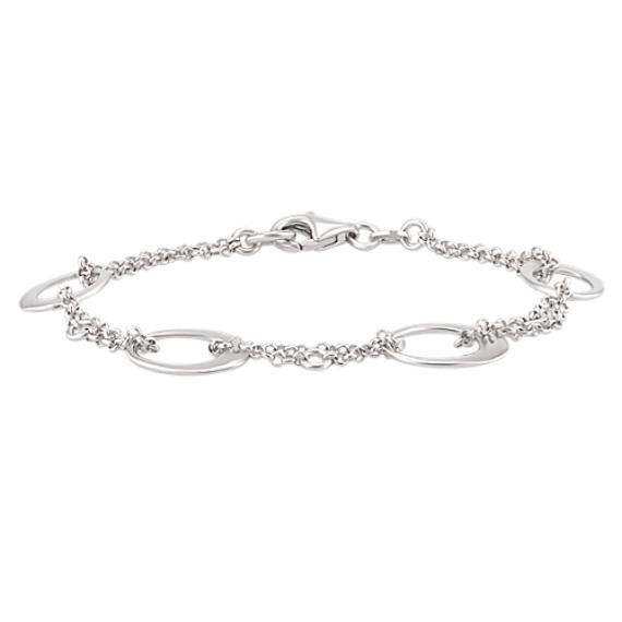 Sterling Silver Circle Bracelet (7)