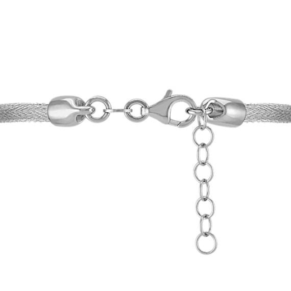 Woven Sterling Silver Bracelet (7)
