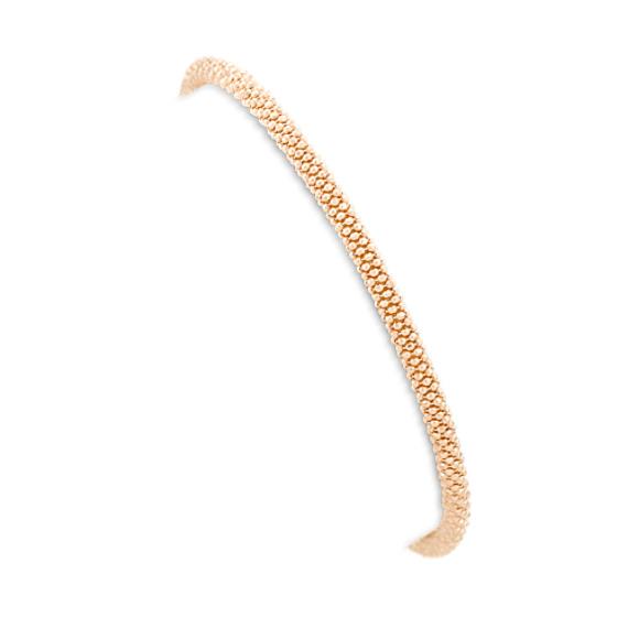 "Yellow Sterling Silver Bracelet (7.5"")"