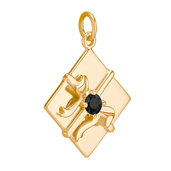 14k Yellow Gold Gift Charm