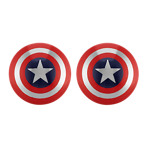 Captain America® by Marvel Comics Stainless Steel Cuff Links