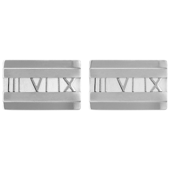 Engraved Stainless Steel Cuff Links