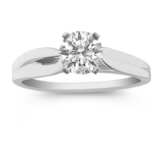 Engagement Ring in Platinum