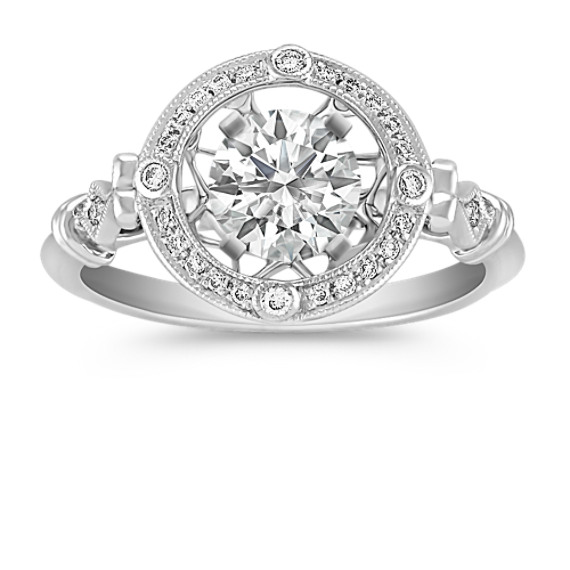Vintage Round Diamond Ring