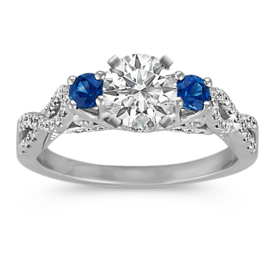 Round Traditional Sapphire And Round Diamond Cathedral. 0.1 Carat Wedding Rings. Class Rings. Dubai Engagement Rings. Black Hills Gold Rings. Ethereal Wedding Rings. Atrocitus Rings. Fancy Rings. Freshwater Pearl Wedding Rings
