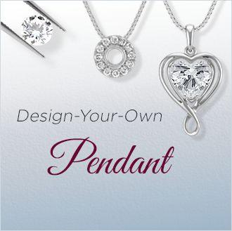 Design Your Own Diamond Pendants