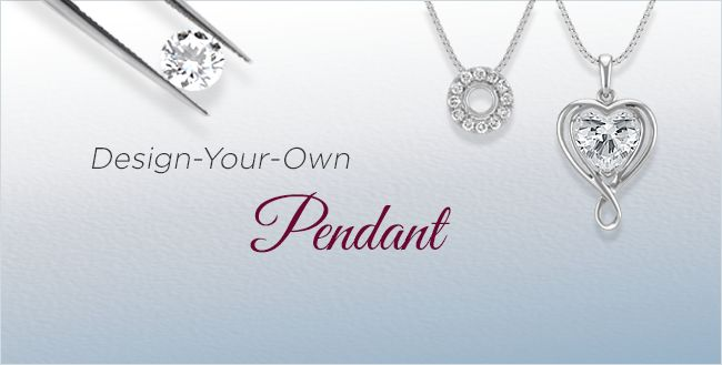Design Your Own Diamond Pendants