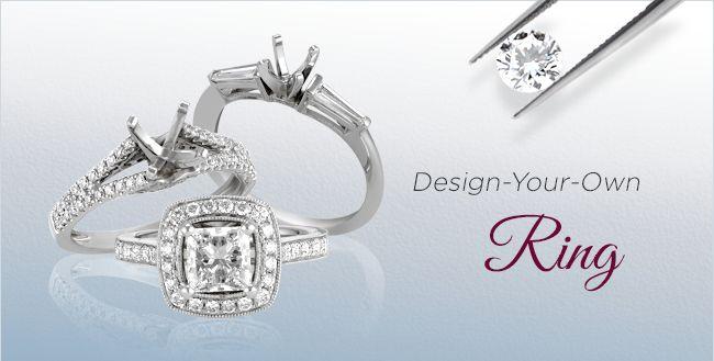 Design Your Own Diamond Rings