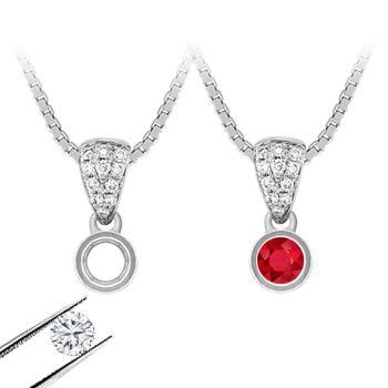 Pendant Necklaces, Outsparkle everyone with a custom designed pendant.