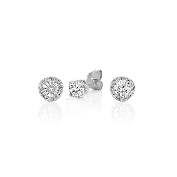 Contemporary Diamond Earring Jackets
