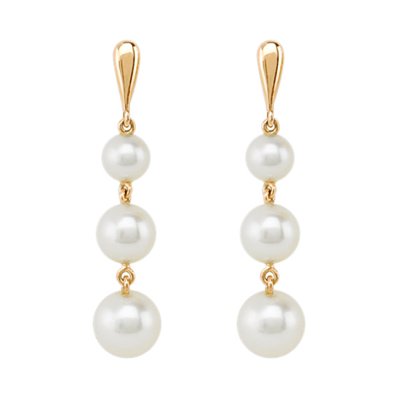 Cultured Freshwater Pearl Earrings