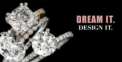 Ten diamond shapes. Thousands of rings. Millions of possibilities.