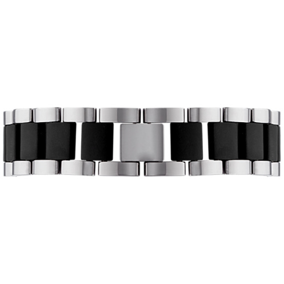 Stainless Steel and Rubber Bracelet (8)