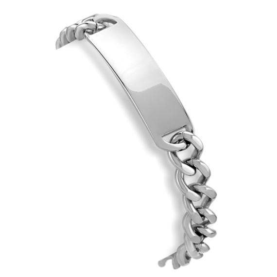 "Stainless Steel ID Bracelet (8.5"")"