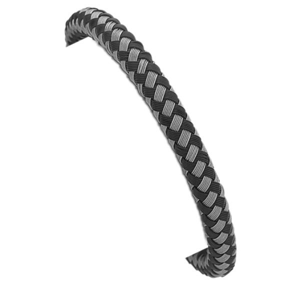 Woven Stainless Steel Bracelet (9)