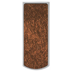 Stainless Steel Money Clip with Textured Accent