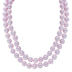 6mm Lavender Cultured Freshwater Pearl Strand (65)