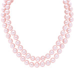 6mm Pink Cultured Freshwater Pearl Strand (65)