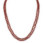 6mm Red Carnelian Strand (65)