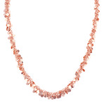 Rose Sterling Silver Confetti Necklace (18)