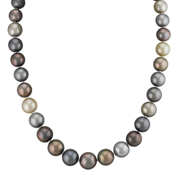 10-12mm Graduated Cultured Tahitian Pearl Strand (18 in.)