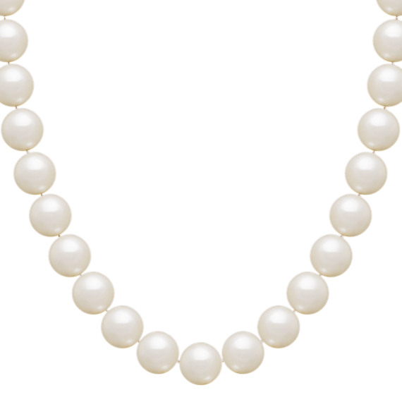 10mm Cultured Freshwater Pearl Necklace (18)