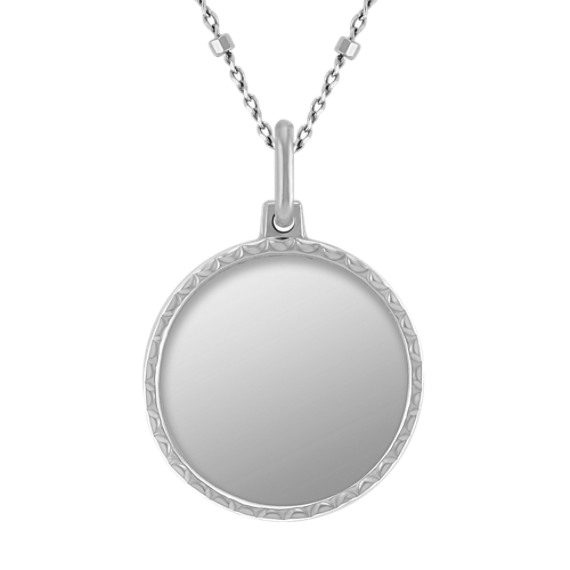 14k White Gold Capri Necklace (18)
