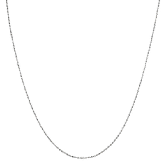 14k White Gold Rope Chain (20)