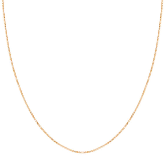 14k Yellow Gold Adjustable Popcorn Chain (22)