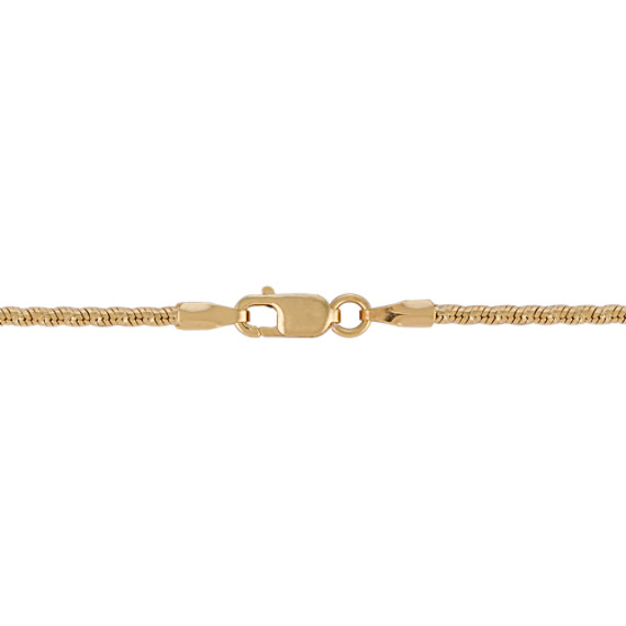 14k Yellow Gold Coil Chain (18)