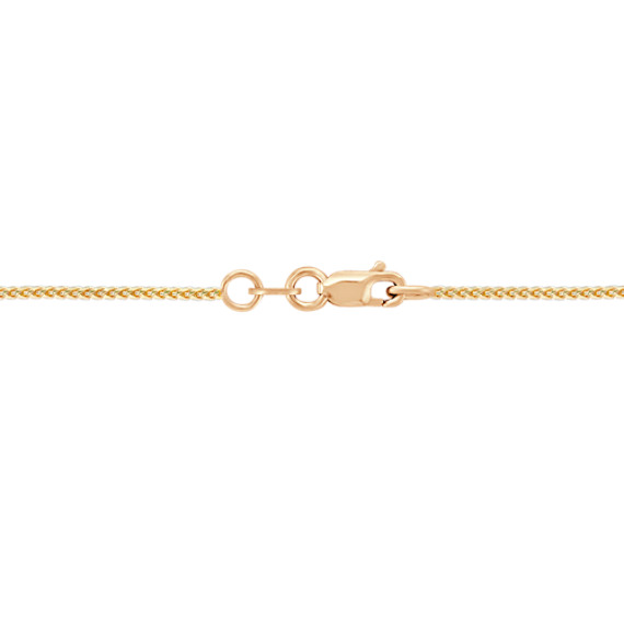 14k Yellow Gold Diamond Cut Chain (18)