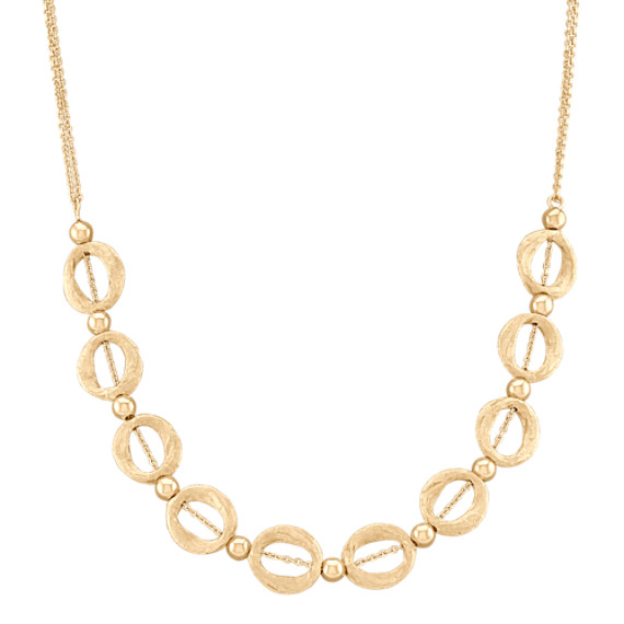 "14k Yellow Gold Necklace (17"")"
