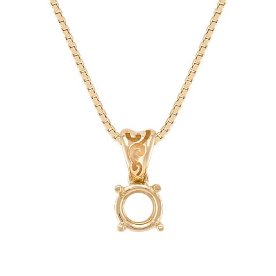 14k Yellow Gold Pendant (18)