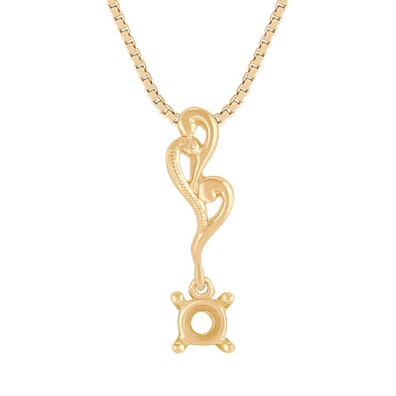 14k Yellow Gold Pendant (18)