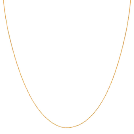 14k Yellow Gold Popcorn Chain (20)