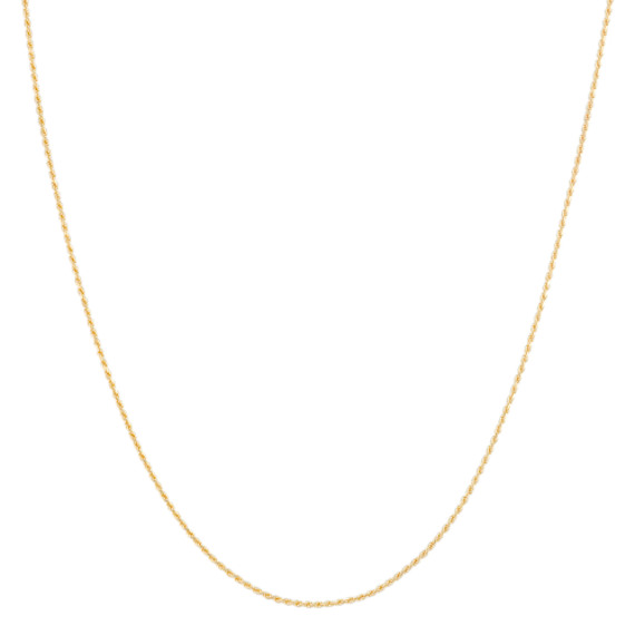 14k Yellow Gold Rope Chain (18)