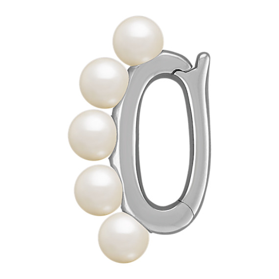 4mm Cultured Freshwater Pearl Shortener in Sterling Silver