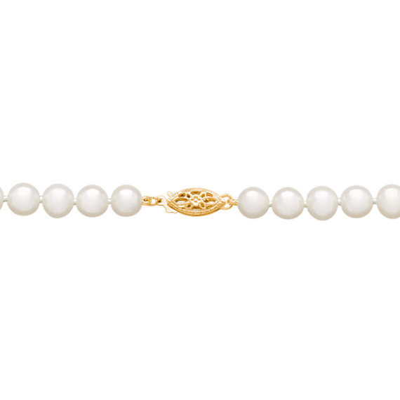 6-9mm Graduated Cultured Freshwater Pearl Strand (18)