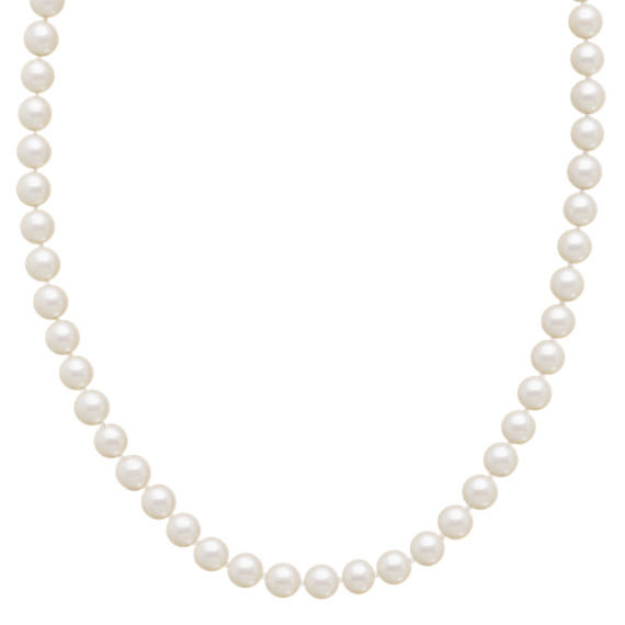 "6mm Cultured Akoya Pearl Strand (23"")"