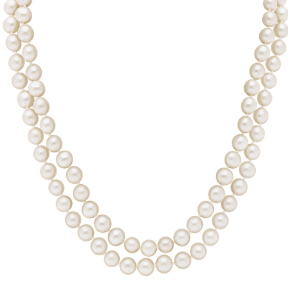 "6mm Cultured Freshwater Pearl Endless Strand (65"")"